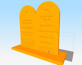 Ten Comandements 3D printable model