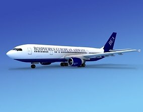 Airbus A300 Bosphorus European 3D