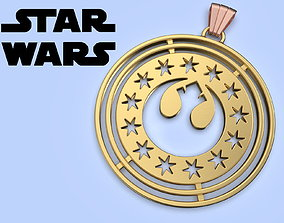 Star Wars New Republic Medallion cosplay 3d model for