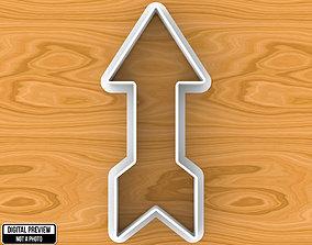 3D printable model Arrow Cookie Cutter