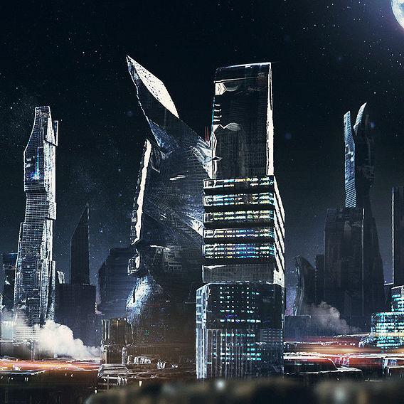 Cityscape concept