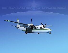 3D Rockwell Turbo Commander 690 V17