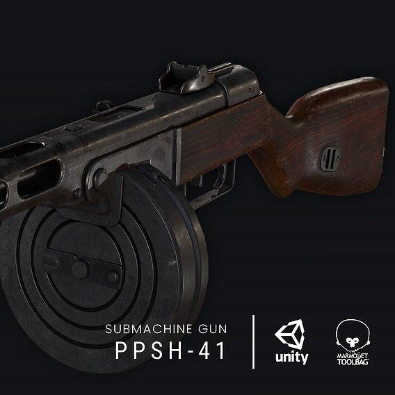 PPSh-41 - Submachine Gun