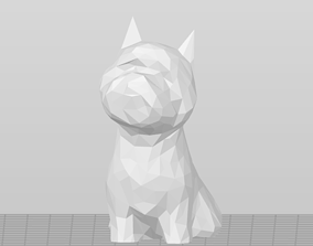 3D printable model Low Poly West Highland Terrier - Westie