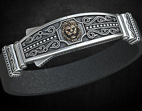 3D print model Bracelet lock with lion under the skin 1