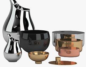 3D Kitchenware Set