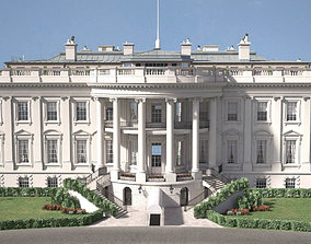 3D model The White House USA