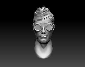 3D printable model head 15