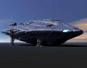 3D model Phaelon Deep Space Transport
