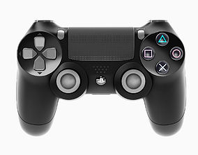 Sony PlayStation PS4 PRO Controller 3D asset