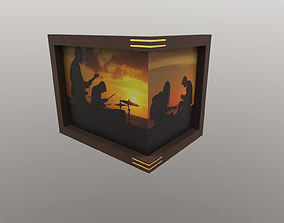 picture frame angle 3D model
