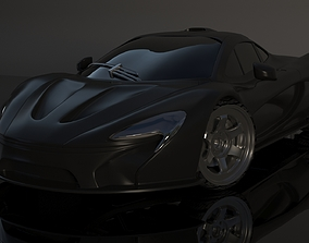 Maclaren car 3d model VR / AR ready