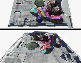 Skatepark 3D asset