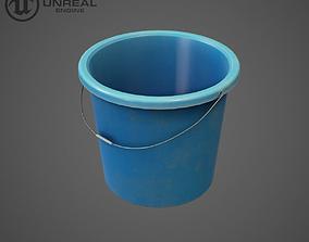 3D model Plastic bucket