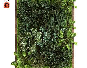 3D vertical plant set 037