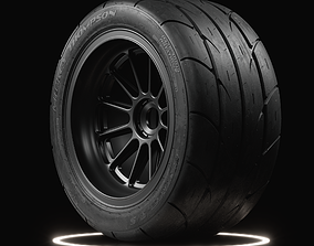 3D model Mickey Thompson ET STREET SS Tire Real World