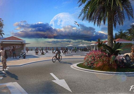 End of summer Esplanade