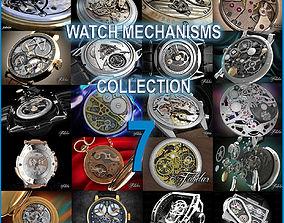 Watch mechanisms coll 7 3D model