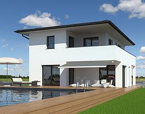 3D Family House 018