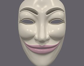 3D model Anonymous Mask - Female