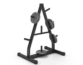 3D model Weight Plate Tree