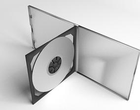 Double CD Case 3D model