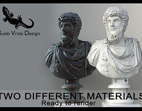 3D model Lucius Verus Emperor Bust