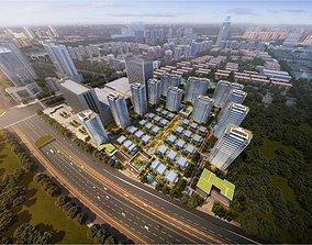 modern High-rise residence prime 3D