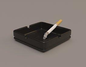Ashtray 3D cigare