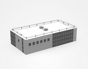hall Industrial Building 3D model