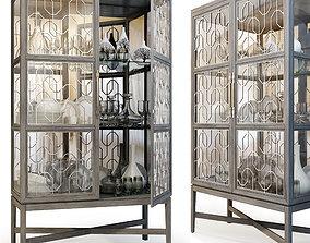 3D Showcase Ensemble Display Cabinet by Carson