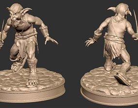 Goblin 3D print model figurines