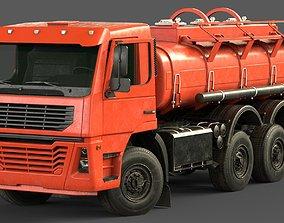 Generic Cistern Truck Tanker 3D model