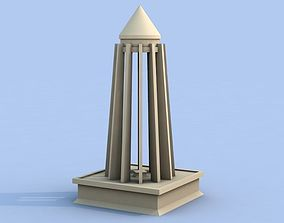 3D print model Ibn sina temple
