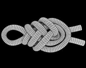 pipa knot 3D asset
