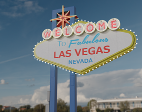 las Las Vegas Sign 3D model