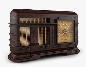 Old Radio 3D speaker