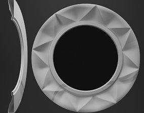 3D print model mirror frame gallery