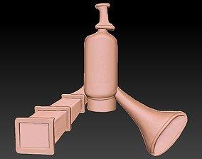 3D printable model Badge Detail Megafon
