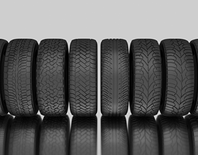 3D model low-poly Tire Pack Protector