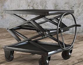 3D model INDUSTRIAL SCISSOR LIFT TABLE