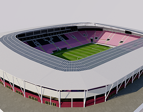 3D model Stade de Geneve - Geneva Switzerland suisse