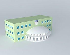 3D model PARK PLACE HOTEL BUILDING FOR MONOLOPY