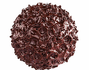 3D model Chocolate Sphere dessert