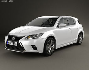 3D model Lexus CT 2014