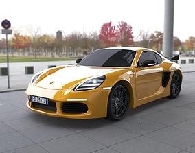 3D Porsche 718 cayman