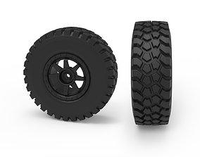 3D printable model Rough Terrain Tire