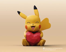 3D printable model Pikachu-Pokemon