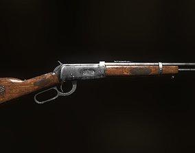 Winchester Model 1894 3D asset