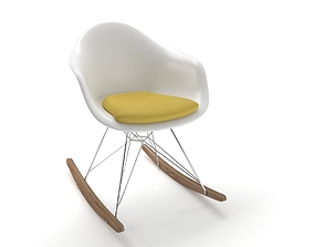 3D model eames plastic rocker